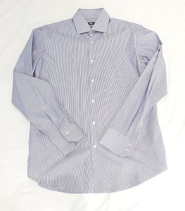Hugo Boss New Men Blue Stripe Shirt