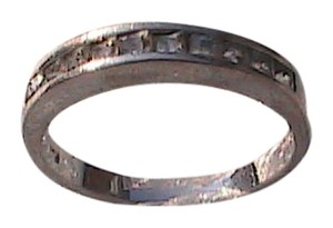 Other 928 CZ Band Ring (#165)