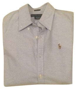 Ralph Lauren Button Down Shirt Light Blue