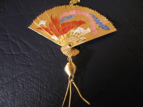 Other Charm: New -Hand Painted Fan