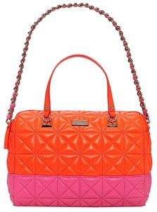 Kate Spade New York Satchel in Flame / Bougainvillea