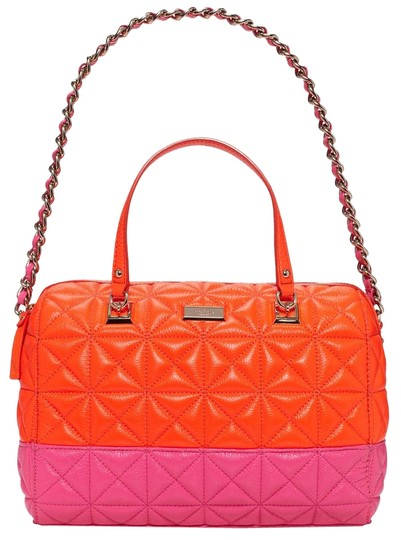 Preload https://img-static.tradesy.com/item/10263601/kate-spade-sedgewick-place-kensey-flame-bougainvillea-quilted-leather-satchel-0-3-540-540.jpg