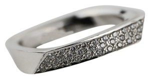 Tiffany & Co. * Tiffany & Co. Frank Gehry Diamonds 18k White Gold Band