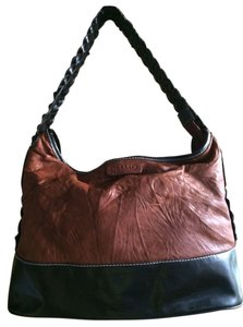 Desmo Leather Large Leather Lightweight Hobo Bag