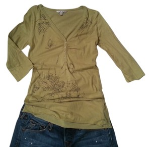 CAbi Style 827 Butterfly T Shirt Green