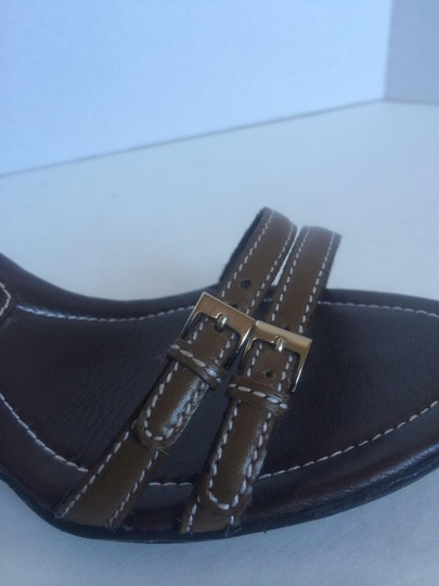 Cole Haan Leather Olive Sandals