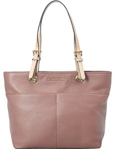 Michael Kors Leather Tote in Dusty Rose/Pink