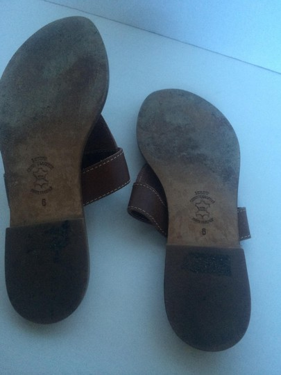J.Crew Leather Brown Flats