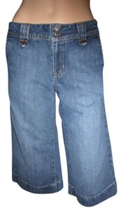 Gap Unique Versatile Dress Up Or Down Durable Old School Capris Dark Denim