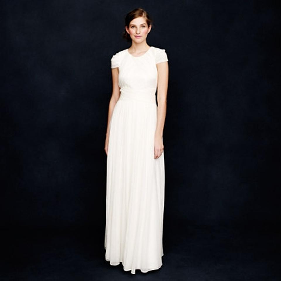 J crew dauphine wedding dress tradesy weddings for J crew wedding dresses