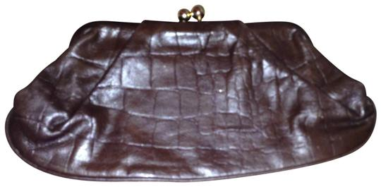 A.B.S. by Allen Schwartz brown Clutch