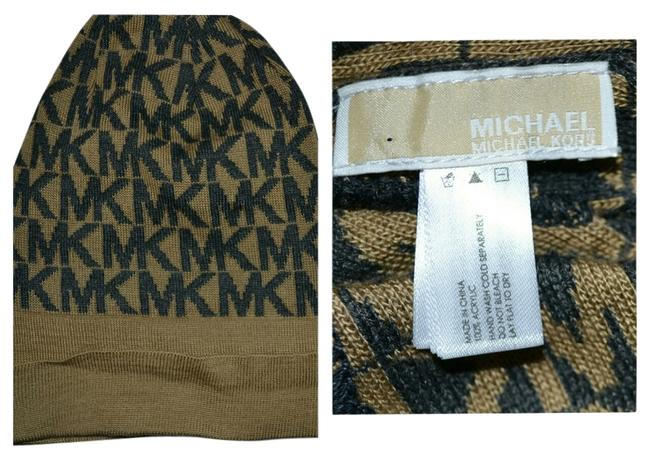 Item - Gold/Brown Gold/Brown Beanie Hat