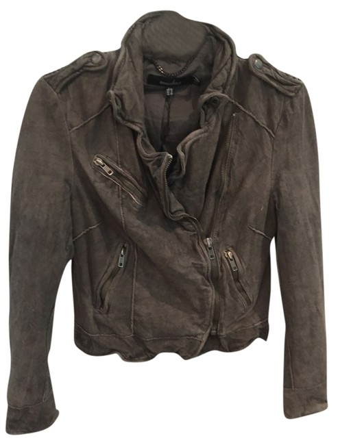 Preload https://item2.tradesy.com/images/muubaa-gray-style-m0174-leather-jacket-size-6-s-10267261-0-1.jpg?width=400&height=650