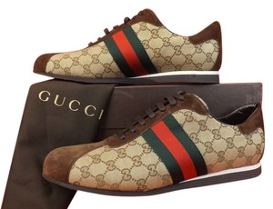 Gucci Beige/Brown/Cocoa Athletic
