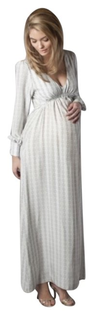 Preload https://item5.tradesy.com/images/grey-juno-gown-maternity-dress-size-10-m-30-10267954-0-1.jpg?width=400&height=650