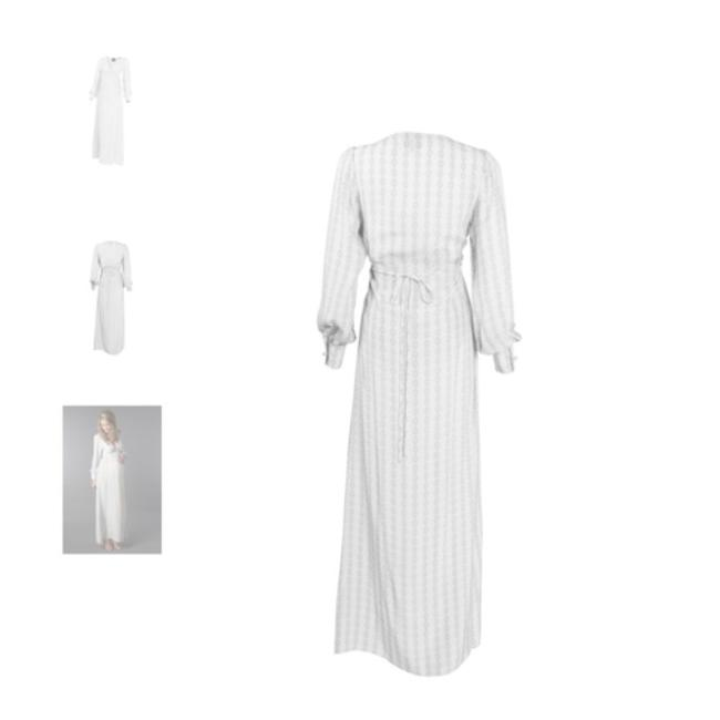 Madderson London Juno gown Grey