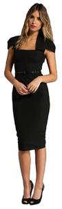 Black Halo short dress Navy Dvf Diane Von Furstenberg on Tradesy