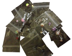 New bellybutton Nabel rings lot of 10