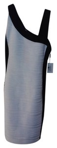 Calvin Klein Ruched Asymetrical Sleeveless Dress