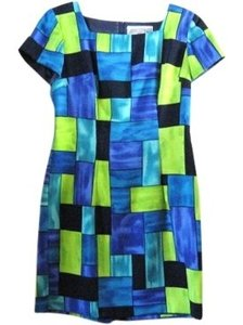 Jessica Howard short dress Multi Color Color-blocking on Tradesy