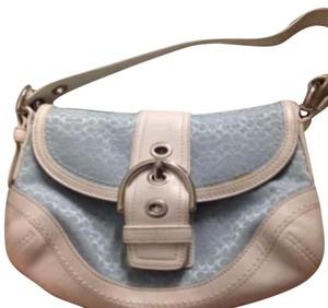 Coach Tote in Sky Blue