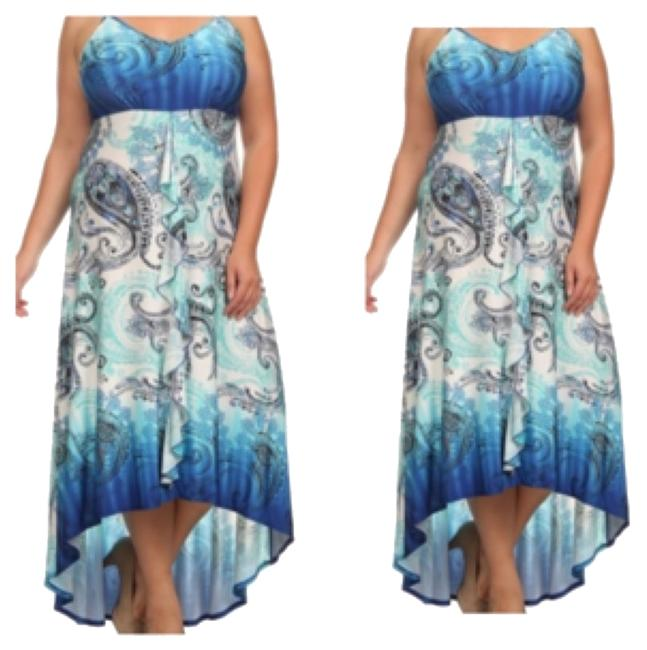Preload https://item1.tradesy.com/images/blue-casual-maxi-dress-size-20-plus-1x-10271575-0-1.jpg?width=400&height=650