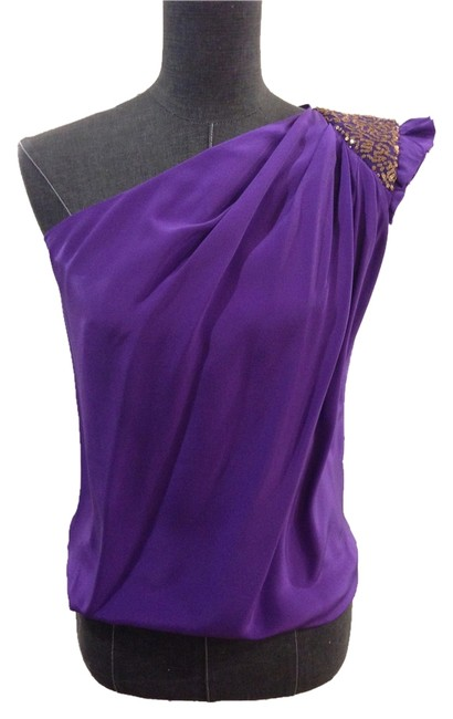 Preload https://item2.tradesy.com/images/robert-rodriguez-purple-one-shoulder-night-out-top-size-2-xs-10271836-0-1.jpg?width=400&height=650