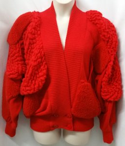 Escada Knit RED Jacket