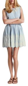 Jack Wills short dress Chambray Summer Classic Feminine on Tradesy