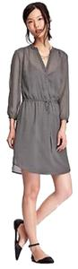 Old Navy short dress Grey with Dots on Tradesy