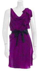 Gryphon short dress Purple on Tradesy