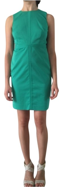 Preload https://item5.tradesy.com/images/ann-taylor-green-above-knee-workoffice-dress-size-petite-2-xs-10272874-0-1.jpg?width=400&height=650