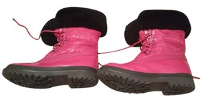 Coach Pink and black Boots