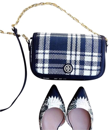 Preload https://item4.tradesy.com/images/tory-burch-robinson-mini-plaid-shoulder-black-white-stripe-leather-trim-multicolor-tweed-cross-body--10273213-0-1.jpg?width=440&height=440