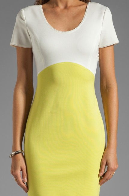 Halston short dress Off-White & Lemonade on Tradesy