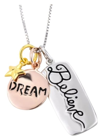 Preload https://item5.tradesy.com/images/silver-gold-inspirational-necklace-10273939-0-1.jpg?width=440&height=440