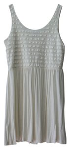 H&M short dress White Ruffled Tank on Tradesy