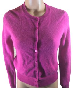 Lord & Taylor 100% Cashmere Cardigan Sweater