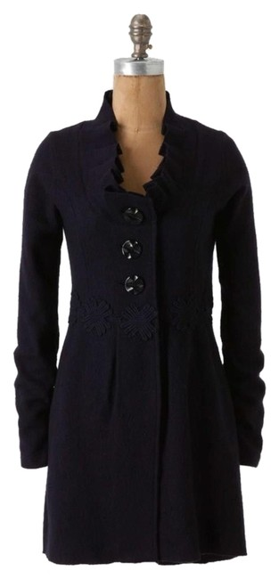 Preload https://item2.tradesy.com/images/anthropologie-navy-alice-in-autumn-sweater-xs-by-charlie-and-robin-coat-size-2-xs-10274881-0-1.jpg?width=400&height=650