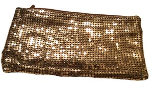 Chain Mail Slinky Gold Metal Clutch