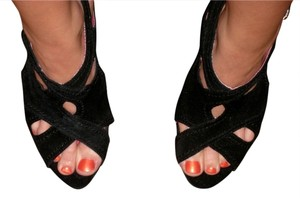 Kensie Summer Date Night Night Out Work Special Occassion Dancing Black Sandals