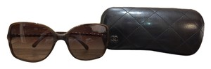 Chanel Chanel Brown Oversized Square 5210 Q Sunglasses
