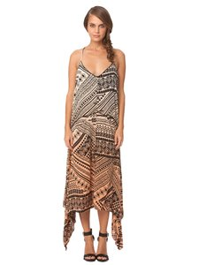 Hombre Tribal Print Maxi Dress by Gypsy 05 Maxi High-low