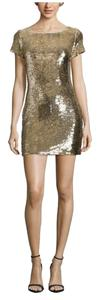 Ark & Co. Short Sequin V-neck Dress
