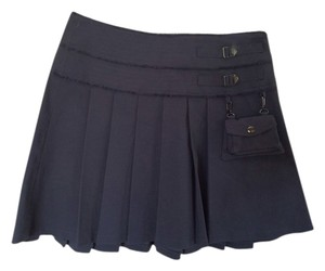 bebe Mini Skirt Gray