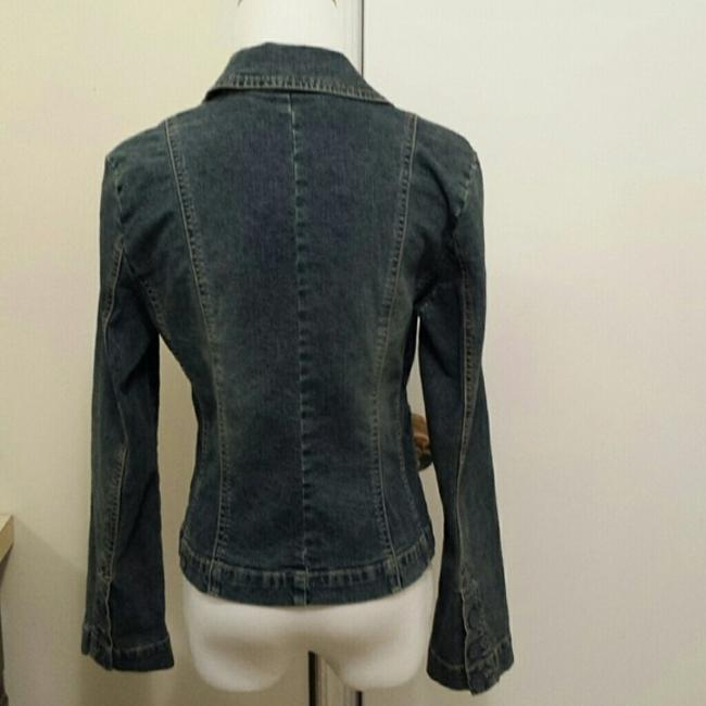 INC International Concepts Womens Jean Jacket