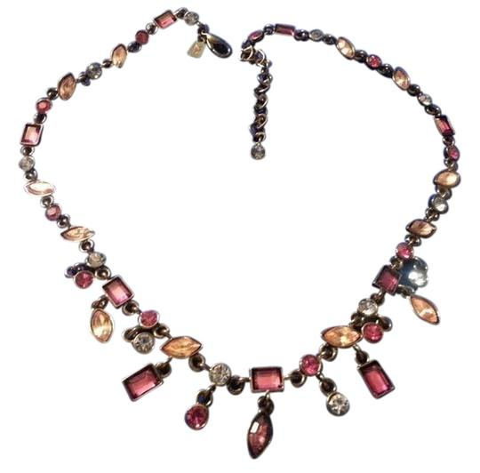 Preload https://img-static.tradesy.com/item/10276306/ak-anne-klein-pink-clear-and-blue-multi-color-crystal-necklace-0-1-540-540.jpg