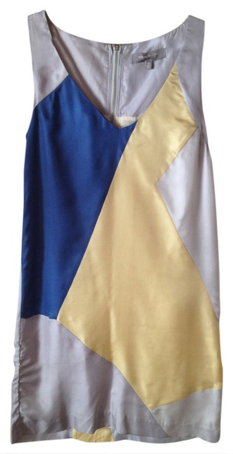 MM Couture Color-blocking Mm Dress