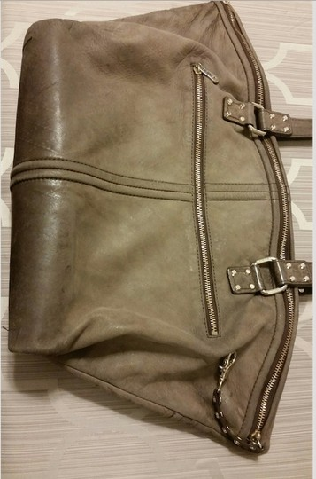 Botkier Leather Gold Hardware Tote in Brown