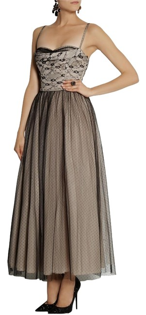 Preload https://item4.tradesy.com/images/red-valentino-grey-black-lace-long-night-out-dress-size-6-s-10277128-0-1.jpg?width=400&height=650